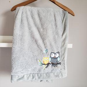"""Koala Baby Owls Soft Plush Blanket 28"""" x 39"""""""